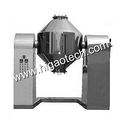 double cone vacuum dryer for drying powder